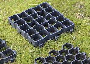 Græsarmering i plast