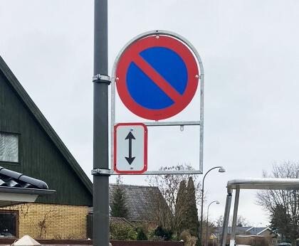 Skilteholder Herlev Kommune