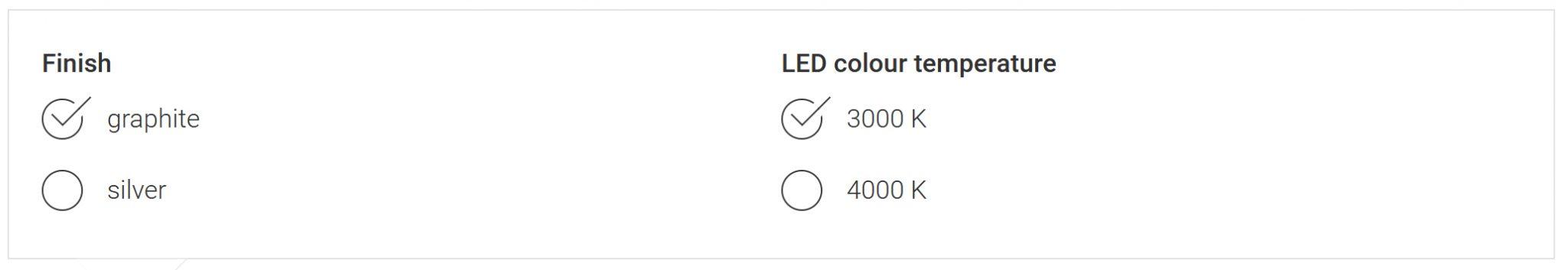 LED temperatur BEGA