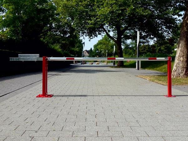 Adgangsbarriere med modvægt