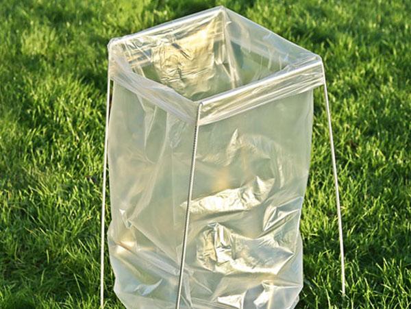 Affaldsstativ til udendørs brug