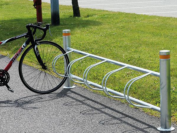 Cykelstativer til 4 og 5 cykler