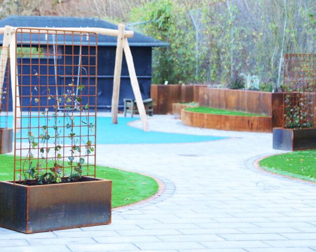 Holberghus projekt - plantekasser