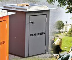 Folkegrillen - Grill til parken